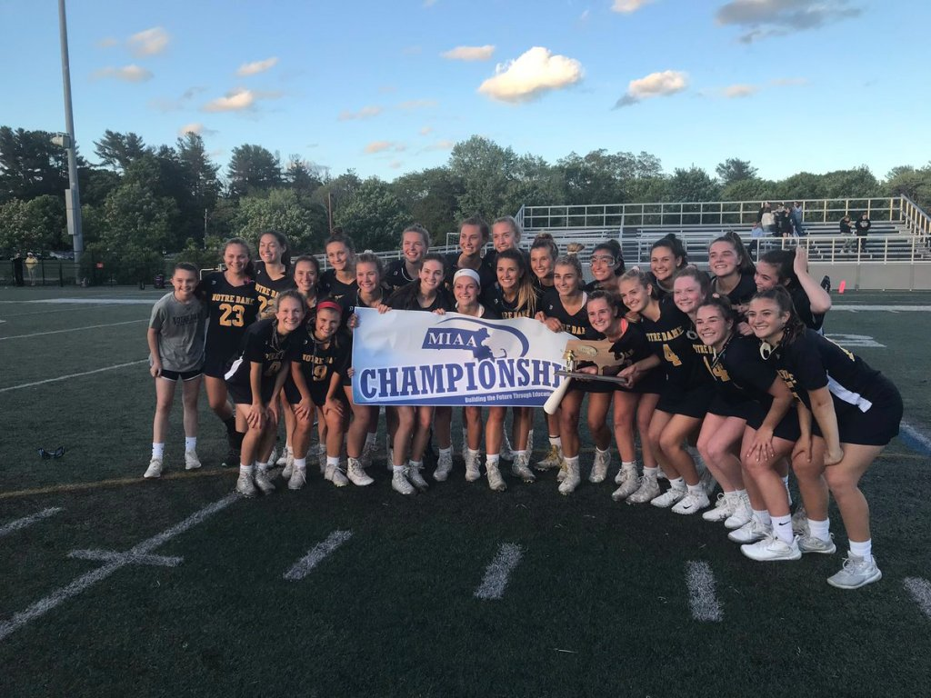 Notre Dame gets over the hump, carts home Div. 1 South girls lacrosse title