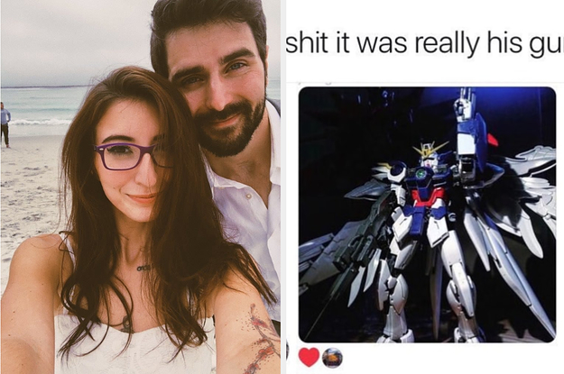 """A Guy From Tinder Wanted To Send This Woman A Pic Of His """"Gundam"""" But Don't Worry, It Wasn't A Dick"""